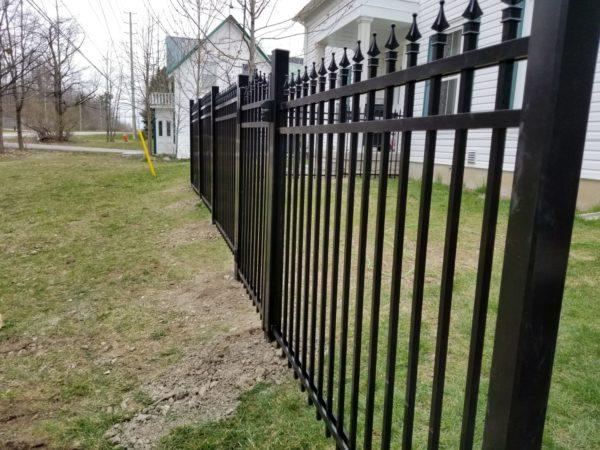 aluminum fence toronto